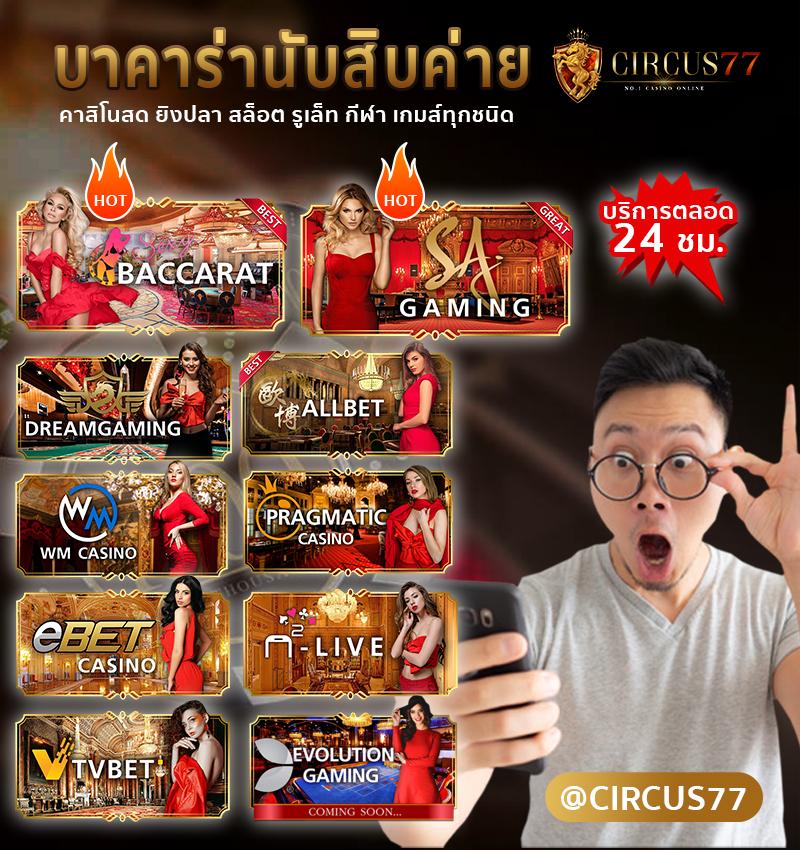 Circus77 banner
